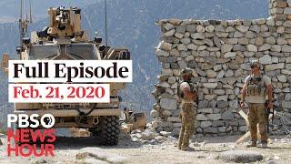 PBS NewsHour West live episode, Feb 21, 2020