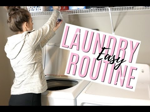 MY EASY LAUNDRY ROUTINE // TIME-SAVING LAUNDRY ROUTINE WITH KIDS // THE SIMPLE LIFE