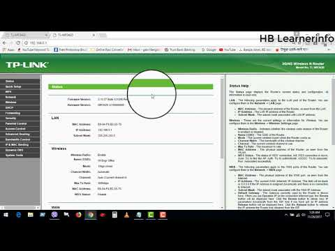 How to Change Wifi Name and Password in TP Link Router  || Bangla tutorial