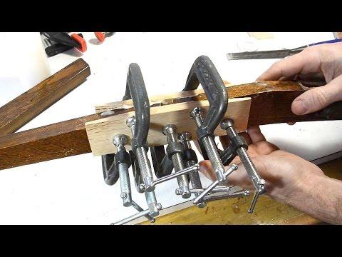 Scarf joint splice chair repair