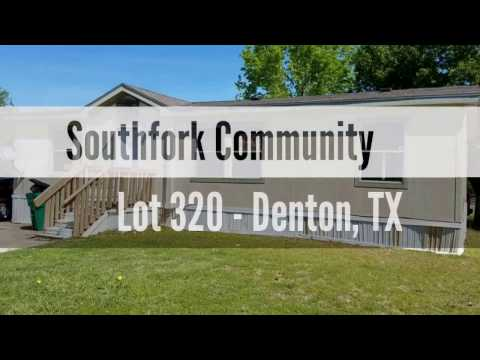SOLD - Amazing 3/2 Doublewide on corner lot in Denton, TX