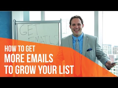 How To Get More Emails To Grow Your List : Vyral Marketing