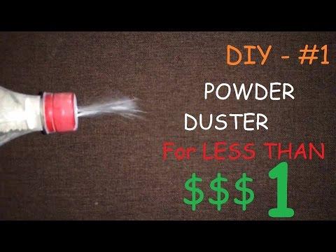 Make a Powder Duster for less than $$$1 - DIY #1
