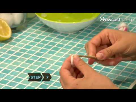 How to Give Yourself a French Manicure