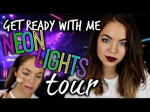 Get Ready With Me: Demi Lovato Concert! (Makeup, Hair & Outfit)