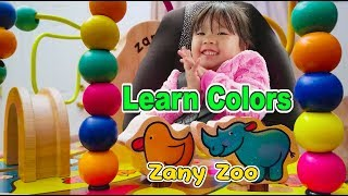 Learn Colors With Zany Zoo Activity Cube Toys - Kids Shopping Adventure For Children Toddlers