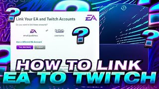 FIFA 21 - HOW TO LINK EA ACCOUNT TO TWITCH! *GET FREE 100K PACKS!*