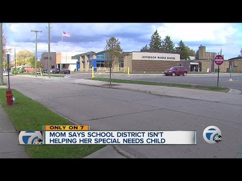 Mom says school district isn't helping her special needs child