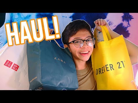 HAUL: Clothing and Shopping 2017! (Philippines) | Gelo Quijencio