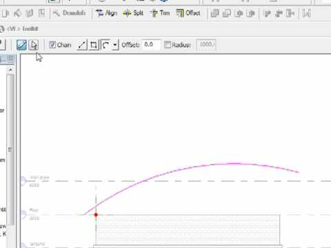 Swept blend Roof in Revit Architecture 2009.mp4