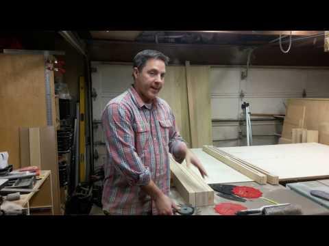 Building Double Barn Doors: Frames 1