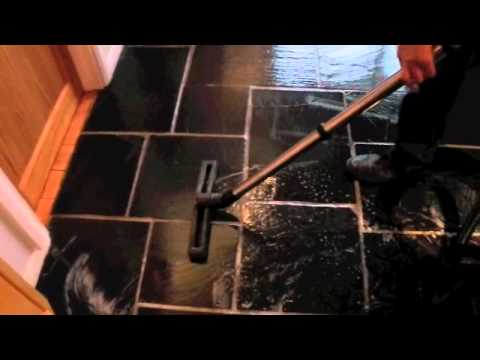 slate floor clean and seal