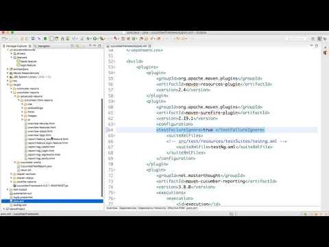 Cucumber Test Report Analysis Video-16
