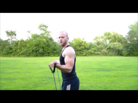 Abs & Weight Loss With a Resistance Band