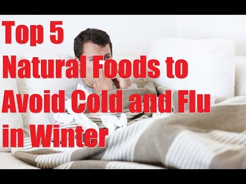 How to avoid cold and flu and boost immunity in winter with natural food