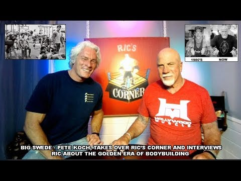 BIG SWEDE  - Pete Koch interviews Ric on Golden Era Life 'SUBSCRIBE'