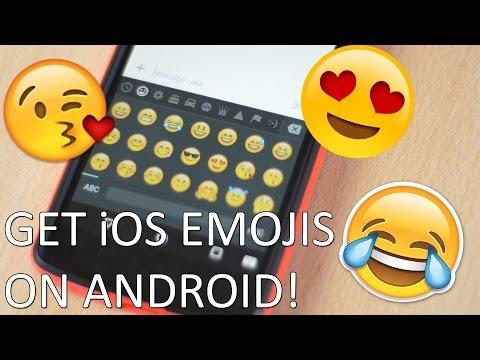 How to get iOS emojis on any **rooted** android phone 📱