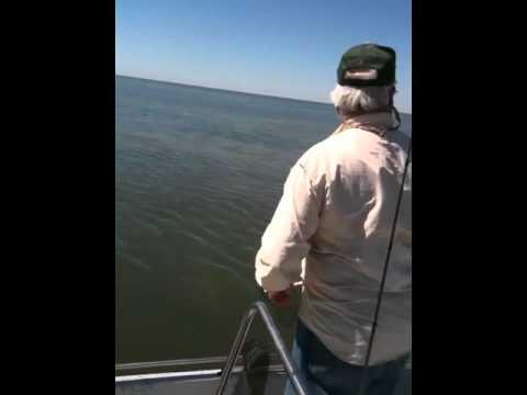 Redfish fishing in Rockport Texas