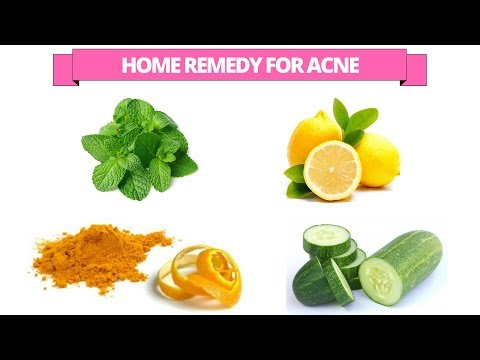 home remedy to get rid of acne - how to get rid of acne
