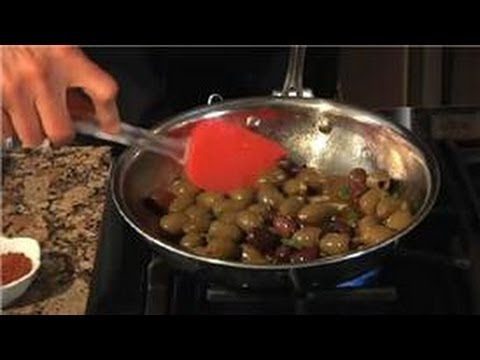 Healthy Recipes : How to Make Spicy Olives