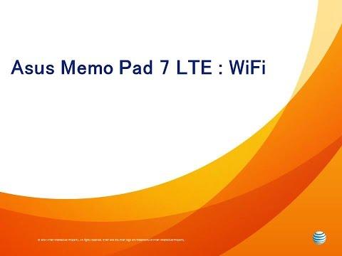 Asus Memo Pad 7 LTE : WiFi