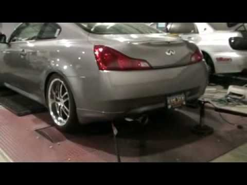 GTM TURBO CHARGED FAST SPOOLING INFINTI G37 509WHP/457RWTQ WITH RACE LOGIC TRACTION CONTROL