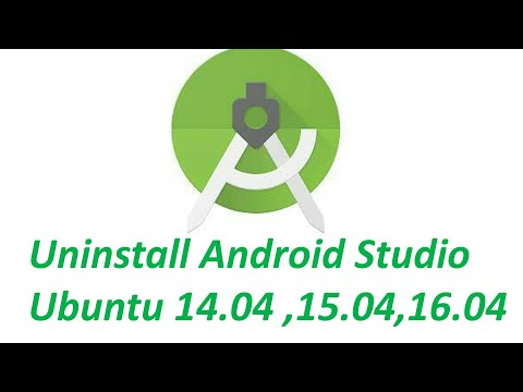 How To Uninstall Android Studio Ubuntu Linux (14.04 LTS or 16.04 LTS )