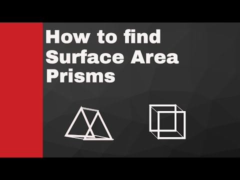 Surface Area of prisms ( rectangular-trapezoidal-triangular )