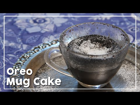 Oreo Mug Cake In Microwave - My Recipe Book By Tarika Singh