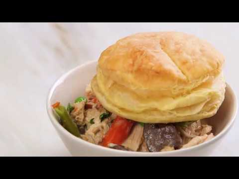 How to Make Slow-Cooker Creamy Chicken and Mushroom Potpie | How To: Kitchen | Real Simple