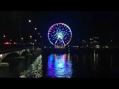 Zürich Bellevue - Wheel Boomerang GIF