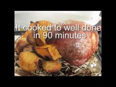 Weber BabyQ Simple Roast Beef Dinner