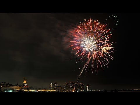 Hotel del Coronado fireworks on July 1, 2017