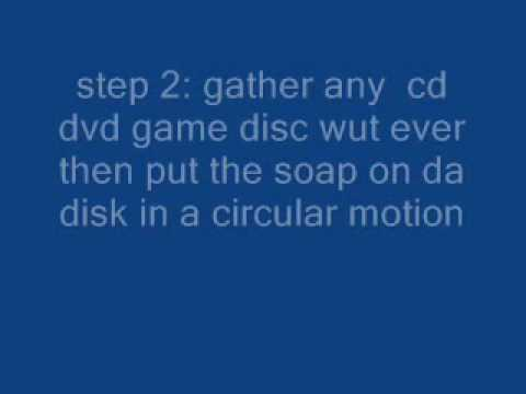 how to clean cd dvd or game disks