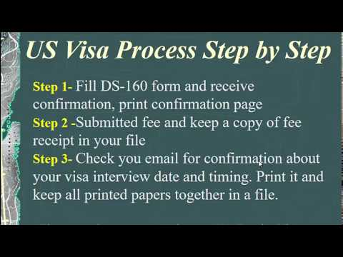 US Tourist Visa Interview Process | US Consulate Interview
