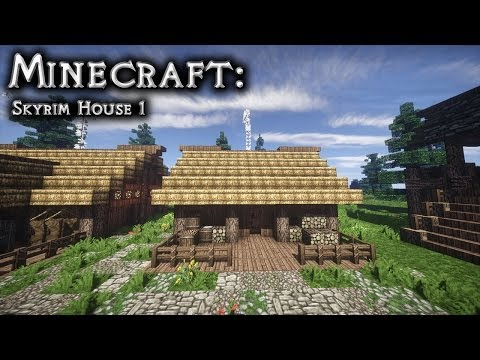 Minecraft: Skyrim House Tutorial 1