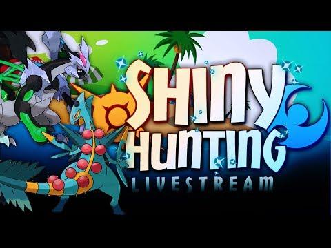 SHINY KYUREM BLACK!  GREEN IS THE LUCKY CHARM! - Pokémon Sun & Moon Livestream w/ Hydros