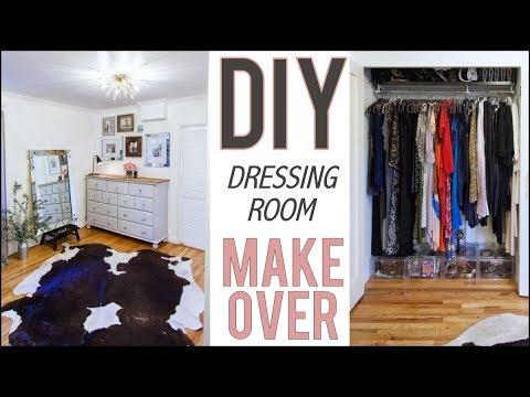 DIY: Dressing Room Makeover! (BEFORE + AFTER)