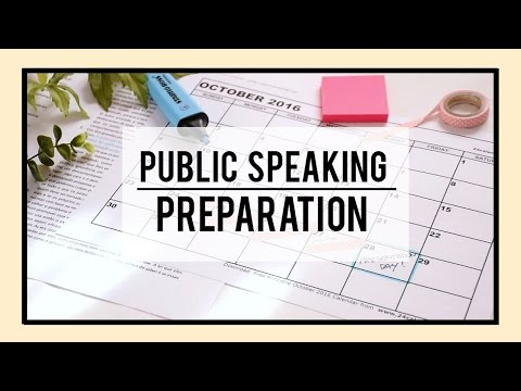 How to Prepare for a Presentation in Class