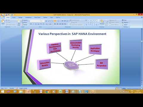SAP HANA  Training |Architecture Overview or Replication Technologies