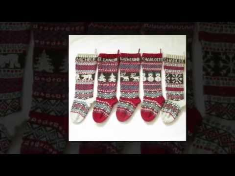 Knitted Christmas Stockings Personalized (2014 favorites)