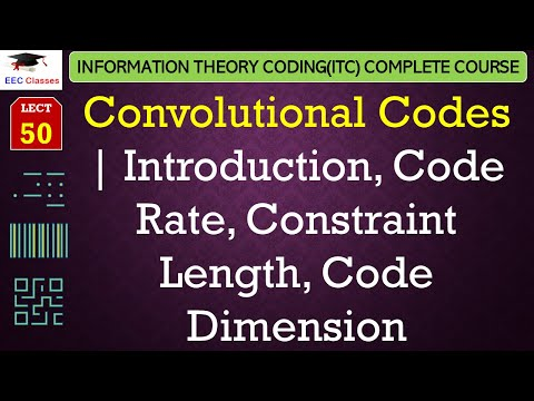 Convolutional Codes Introduction – Code Rate, Constraint Length, Code Dimension