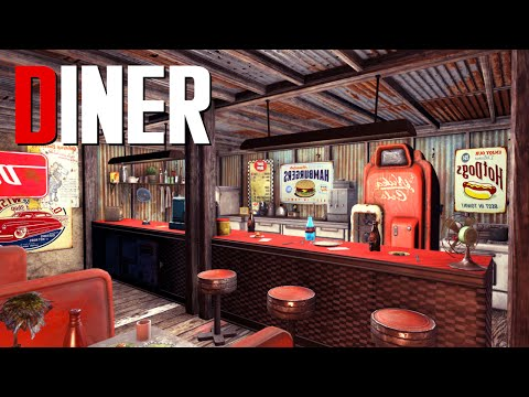Fallout 4 Settlement Build: Diner