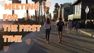 Met My Online Crush For The FIRST TIME! How Will It Go? Emma and Ellie