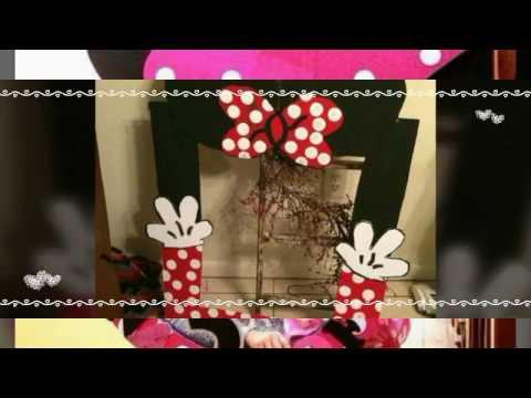 Hermosos marcos de minnie para piñata