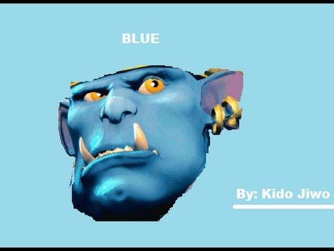 Grohk is Blue