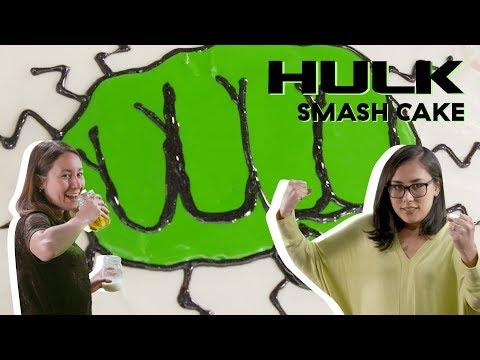 Hulk Cake | Delish | Cult Kitchen