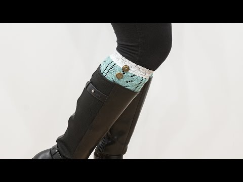 How to Sew a Boot Cuff