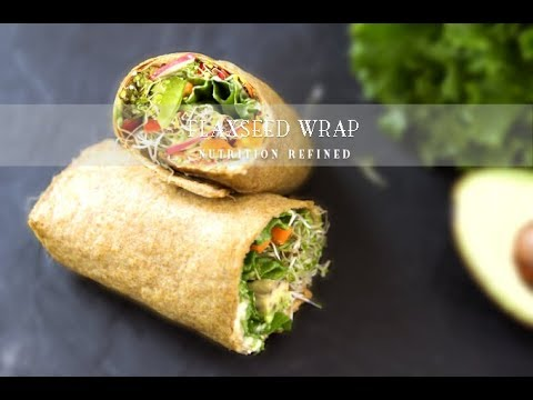 Flaxseed Wraps | Vegan, Paleo