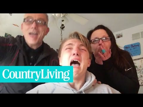 This Kid Freaks Out After Opening College Acceptance Letter | Country Living
